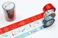 ★2019mtクリスマスマスキングテープ(ご予約ページ)