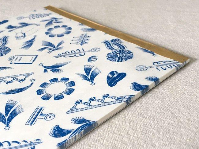 36×羅久井ハナ 包装紙パッド