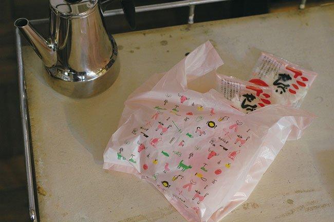 トラネコボンボン お使い袋 Sサイズ 10枚パック 倉敷意匠計画室