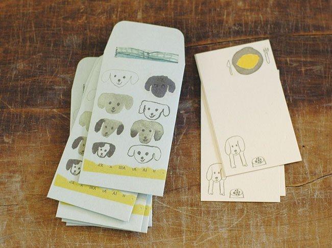 トラネコボンボン ぽち袋+カードセット M (Dog)