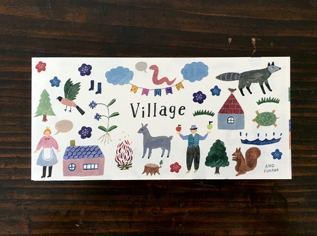 AikoFukawa 一筆箋 Village<img class='new_mark_img2' src='//img.shop-pro.jp/img/new/icons12.gif' style='border:none;display:inline;margin:0px;padding:0px;width:auto;' />