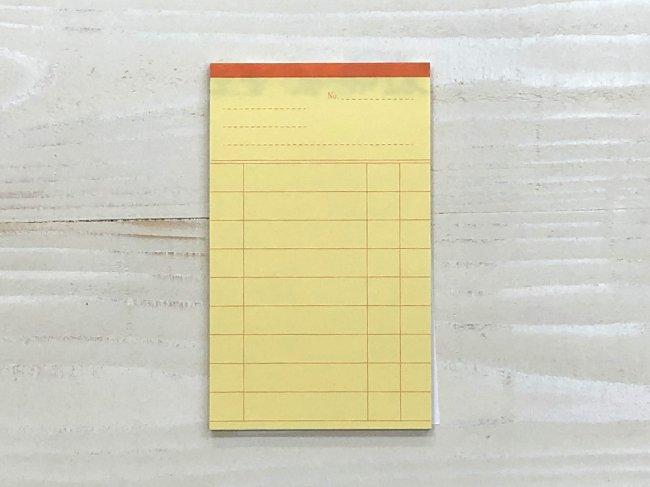 図書室の貸出カード風メモ帳  Cobato<img class='new_mark_img2' src='https://img.shop-pro.jp/img/new/icons12.gif' style='border:none;display:inline;margin:0px;padding:0px;width:auto;' />