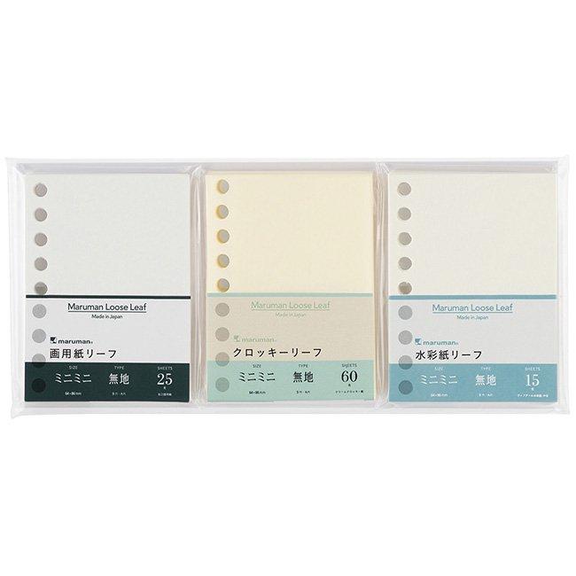 マルマン100周年記念限定 ミニミニルーズリーフ えがくセット<img class='new_mark_img2' src='https://img.shop-pro.jp/img/new/icons12.gif' style='border:none;display:inline;margin:0px;padding:0px;width:auto;' />