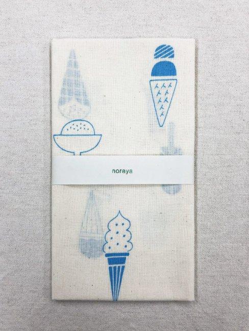 ノラヤ アイスクリームの手ぬぐい