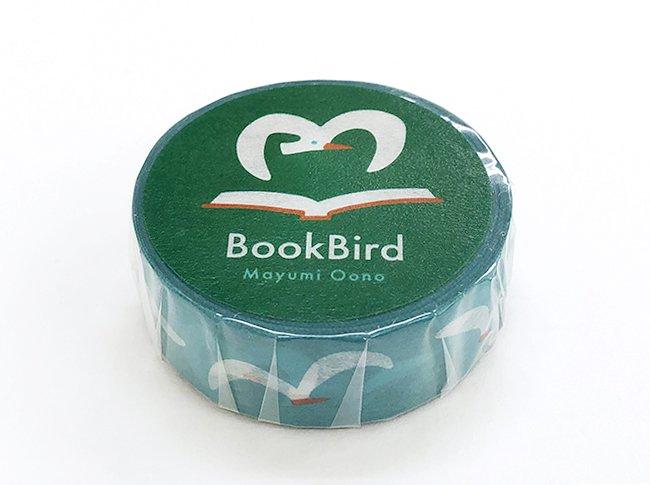 オオノ・マユミ  マスキングテープ  Book Bird<img class='new_mark_img2' src='https://img.shop-pro.jp/img/new/icons12.gif' style='border:none;display:inline;margin:0px;padding:0px;width:auto;' />