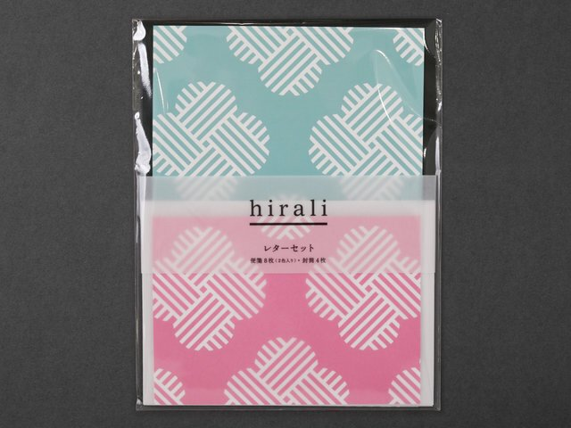 hirali|レターセット かさねの色目 〜願の糸〜<img class='new_mark_img2' src='https://img.shop-pro.jp/img/new/icons12.gif' style='border:none;display:inline;margin:0px;padding:0px;width:auto;' />