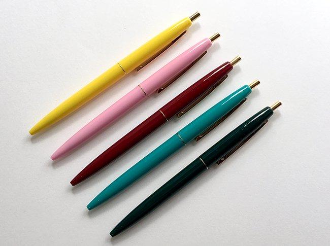 BiCクリックゴールドボールペン