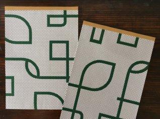 36オリジナル 包装紙パッド ネオン