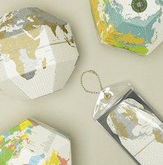 ポケットの中の地球[ボヤージュ]折り畳み式地球儀