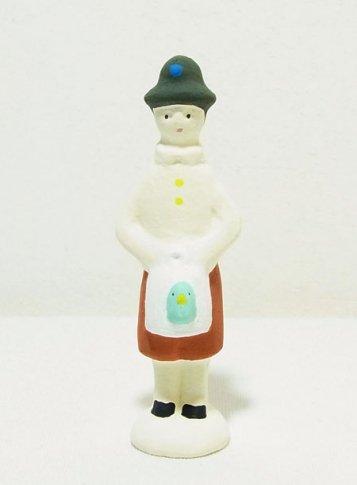 下川原焼のにしおゆき人形 「青い鳥のチルチル」
