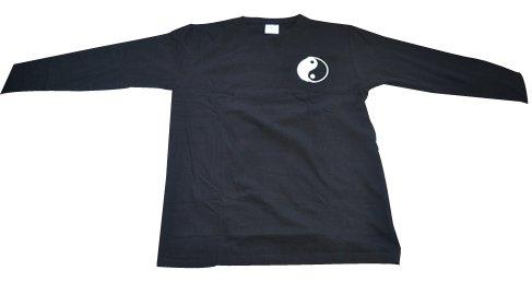 太極拳長袖Tシャツ〜太極図〜