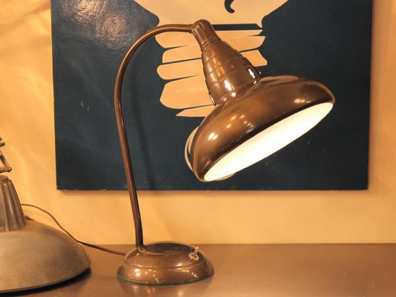 ?? ... & Industrial Desk Lamp