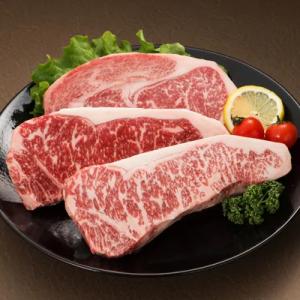 熊本県産 黒毛和牛ロースステーキ約200g×3枚