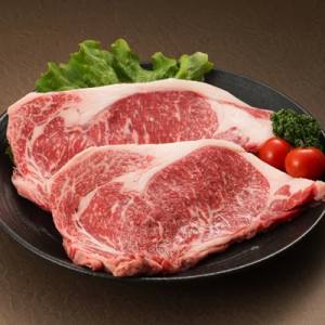 熊本県産 褐毛和牛ロースステーキ 2枚