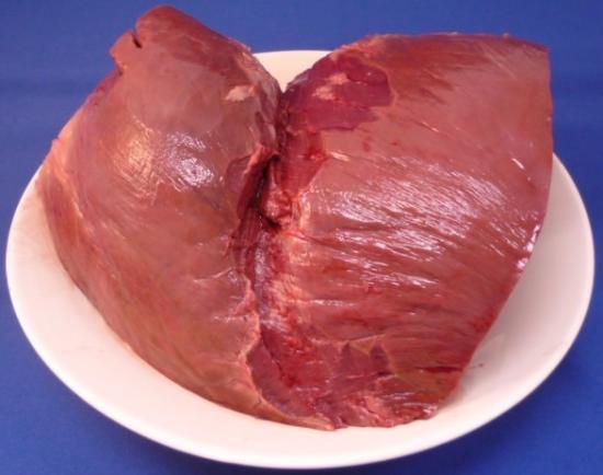 馬心臓 国産(加熱用)