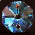 プレシオサ #2552-2h 14mm クリスタルオーロラ 6粒