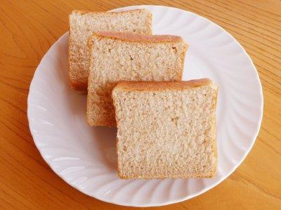 無農薬小麦粉100% 手作り食パン