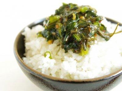 野沢菜の佃煮