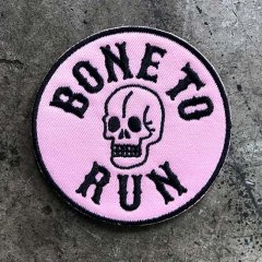 BONE TO RUNワッペン / made in Japan