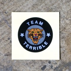 Team Terrible Tiger ステッカー