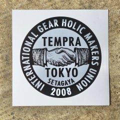 tempra logo ステッカー