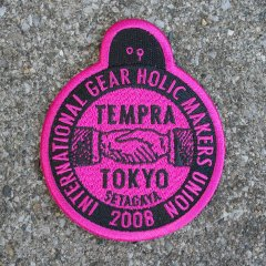 Ryuji Kamiyama x tempra ロゴワッペン / made in Japan