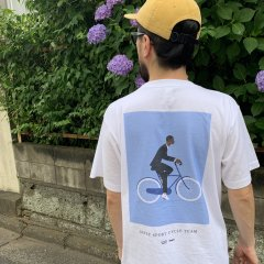 JAZZY SPORT CYCLE TEAM Tシャツ(ステッカー付)