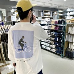 JAZZY SPORT CYCLE TEAM LONG SLEEVE Tシャツ(ステッカー付)
