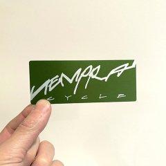 tempra whizzing Logo ステッカー