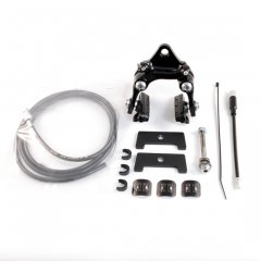 tempra cycle hidden rear brake kit(Black/ Plate : Black)