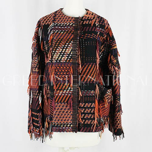 GREED internationa<br />MALHIA FRINGE Short Coat