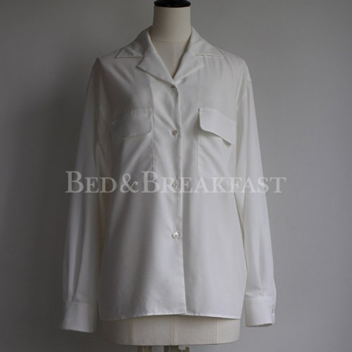 【BED&BREAKFAST】ベッドアンドブレックファスト/CLASSIC BIG Shirt 18aw
