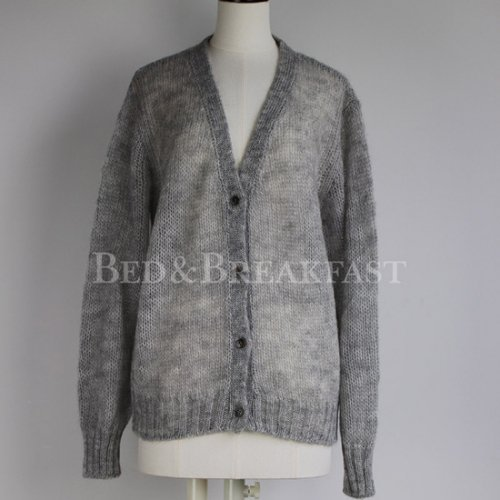 BED&BREAKFAST<br />LOOSE MOHAIR KNIT Cardigan