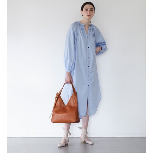 予約商品【ELIN】エリン / Broad Gathered Dress 19ss