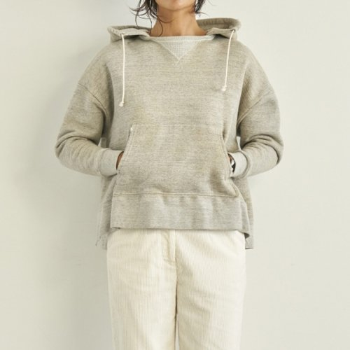 予約商品【SEA】シー/VINTAGE Raised Back Oversized Hooded Sweatshirt 18冬予約