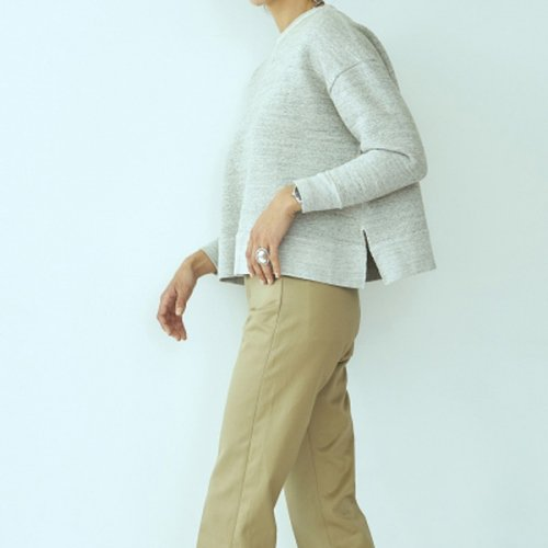 予約商品【SEA】シー/VINTAGE Raised Back Oversized Sweatshirt 18冬予約