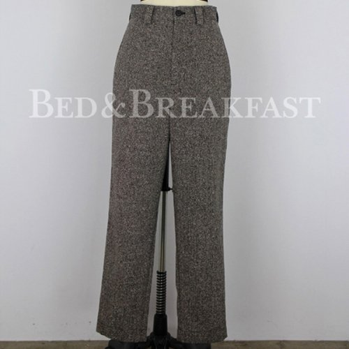 BED&BREAKFAST<br />JAZZ NEP TWEED BALLOON PANTS