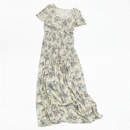 TODAYFUL<br />Georgette Pattern Dress