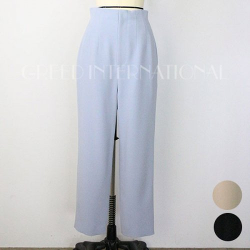 【予約】<br />GREED International<br />Double Stretch Cloth Pants