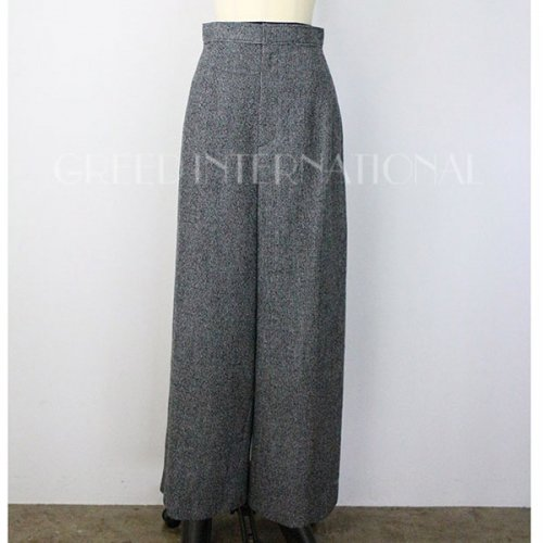 【予約】<br />GREED International<br />Wool Gingham Check Pants