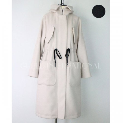 【予約】<br />GREED International<br />Reversible Charme Wool Hooded Coat