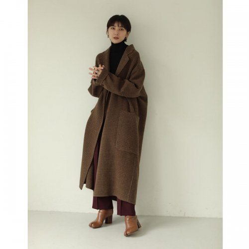 TODAYFUL<br />Over Check coat