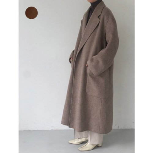 【予約】<br />TODAYFUL<br />Wool Over coat