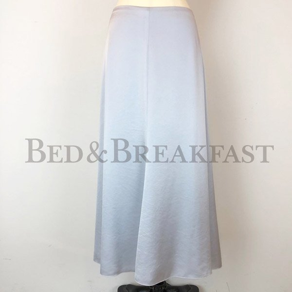 【予約】<br />BED&BREAKFAST<br />Satin Skirt