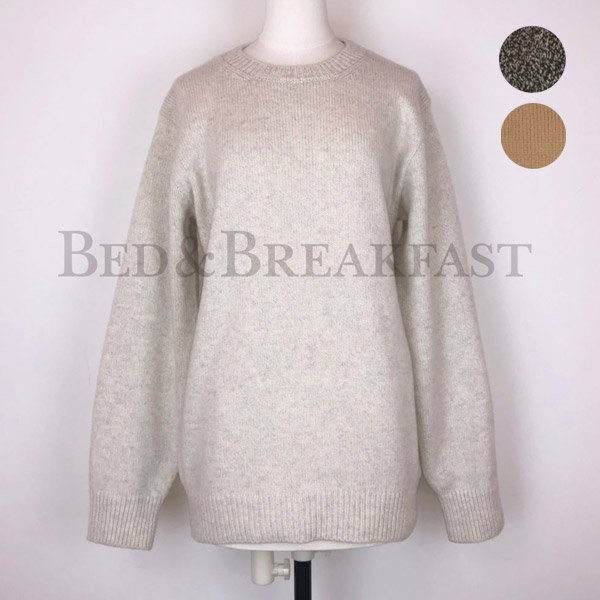 【予約】<br />BED&BREAKFAST<br />Wool Mix Knit