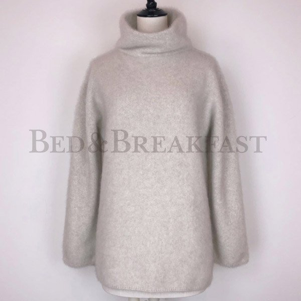 【予約】<br />BED&BREAKFAST<br />Natural Fur Knit