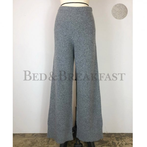 【予約】<br />BED&BREAKFAST<br />Silk Nep<br />Wool Pants
