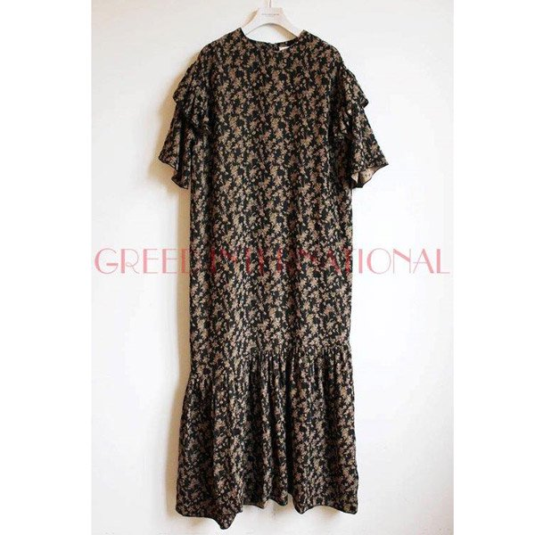 GREED International<br />Classic Flolal Jacquard Dress
