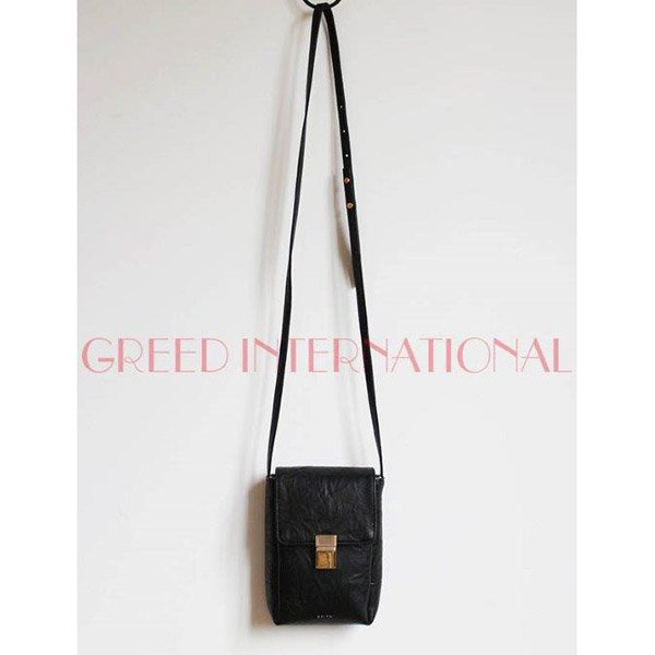 【予約】<br />GREED International<br />FlapShoulder Bag