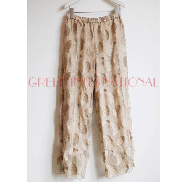 【予約】<br />GREED International<br />Fether jacquard Pants